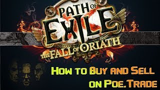 Path of Exile: How to buy and sell on Poe.Trade