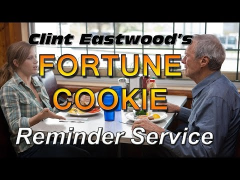 Clint Eastwood's Fortune Cookie Reminder Service - Dirty Harry Callahan - Dead Pool Blu-ray 1080p