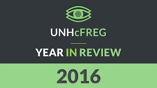 UNHcFREG Year In Review 2016