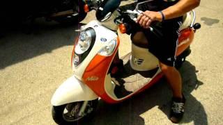 10. SYM Mio 50cc Scooter, SOLD