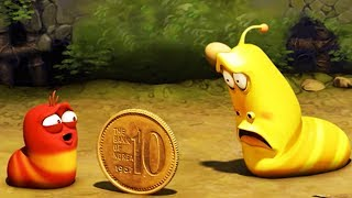 Video LARVA - COIN TOSS | Larva 2017 | Cartoons For Children | Larva Cartoon | LARVA Official MP3, 3GP, MP4, WEBM, AVI, FLV Agustus 2018