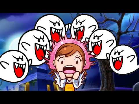 Cooking Mama Mia - Boo Wallpaper