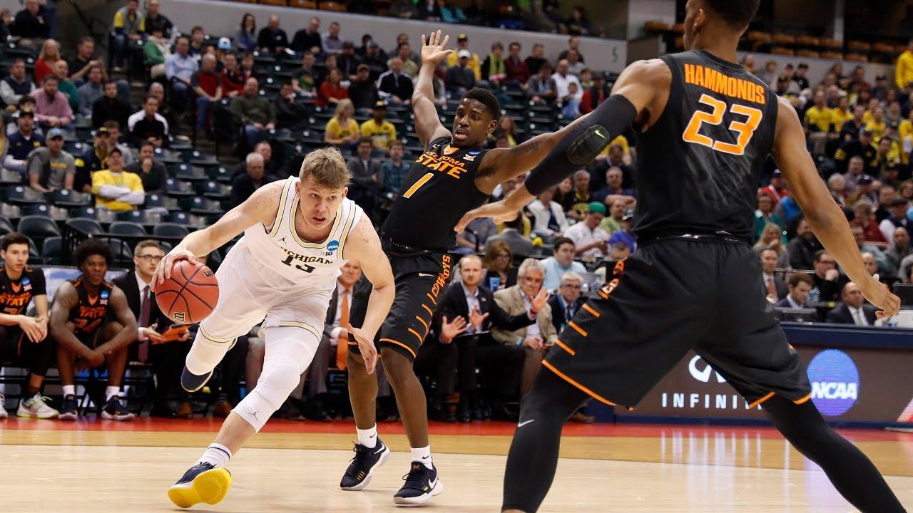 NCAA Tournament Highlights: Michigan vs Oklahoma State ...