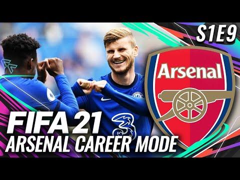 FIGHTING CHELSEA FOR TOP 4!   FIFA 21 ARSENAL CAREER MODE S1E9