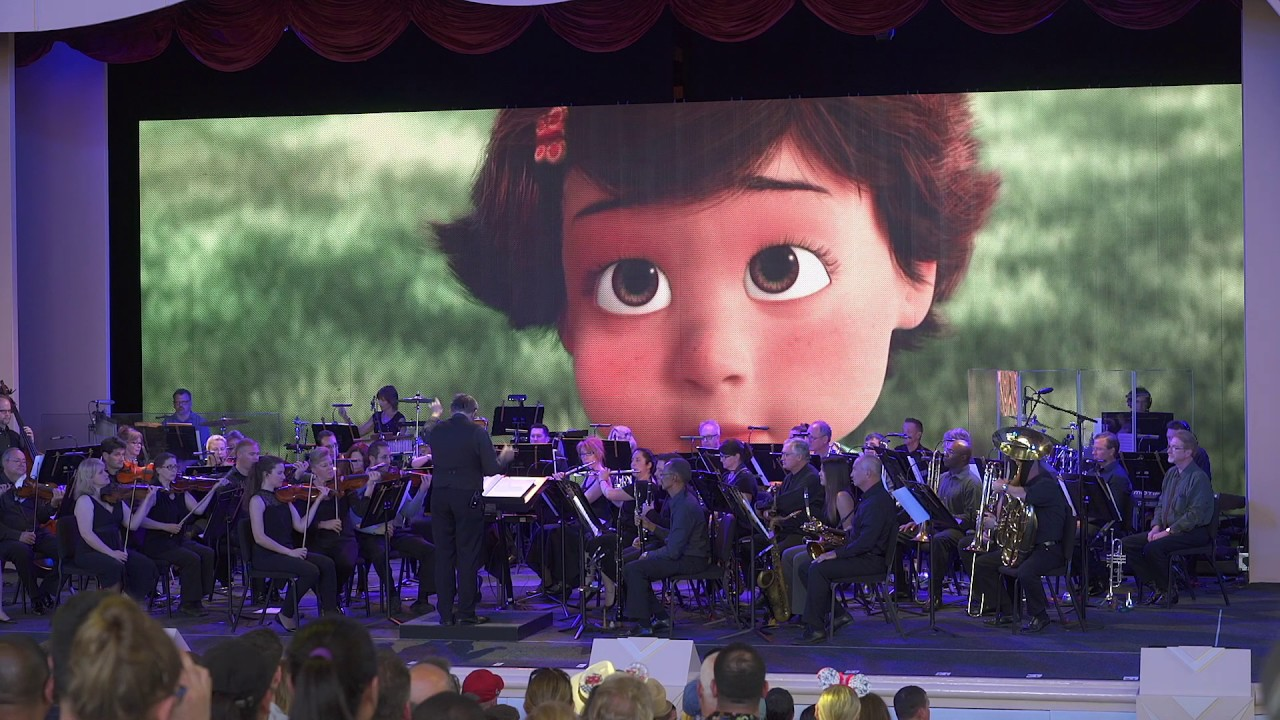 The Music of Pixar Live! opening night performance