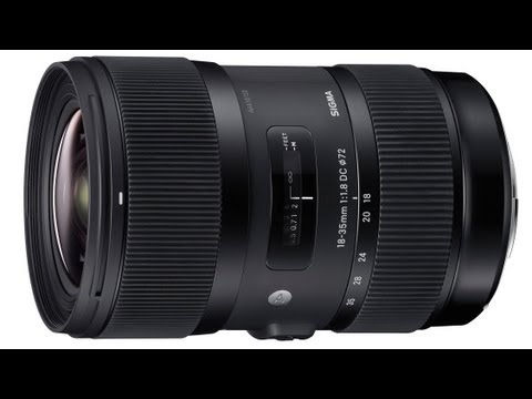 Sigma 18-35mm F1.8 DC HSM Preview