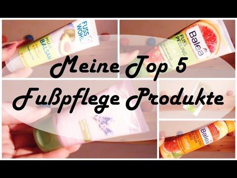 Meine Top5 Fußpflege Produkte | FranzisBeautySecrets