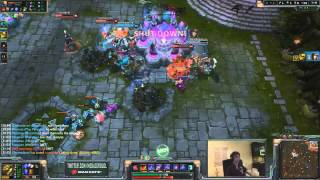 MegaZero Saves the Nexus at 50 HP and Earns his Team a Victory