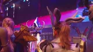 Gamecom 2014 Blizzard Costume Contest Part 1