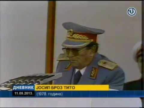 tito - Marshal Josip Broz Tito (born Josip Broz; Serbo-Croatian pronunciation: [jɔ̌sip brɔ̂ːz tîtɔ]; Cyrillic: Јосип Броз Тито; 7 May 1892[nb 1] -- 4 May 1980) was ...