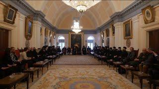 World spiritual leaders annual visit to Armenian Patriarchate of Jerusalem