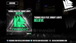 Thumbnail for Thomas Gold ft. Bright Lights — Believe