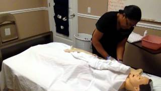 CNA SKILL# 12 : Modified Bed Bath