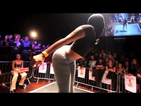 UK - 2014 UK Twerking Championships Pop & Jiggle Round. Twerkers have 30 seconds to demonstrate