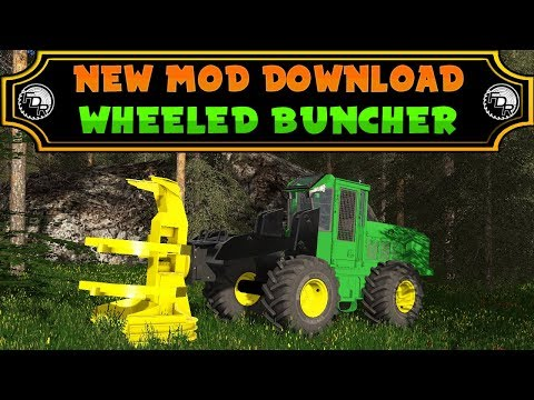FDR Logging - Wheeled Feller Buncher v1.0