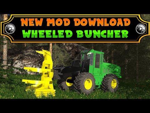 FDR Logging - Wheeled Feller Buncher v1.0
