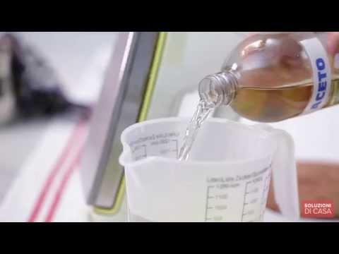 ecco un metodo infallibile per togliere lo sporco dal ferro da stiro!