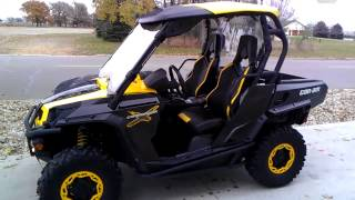 6. 2012 Can-am Commander 1000 X