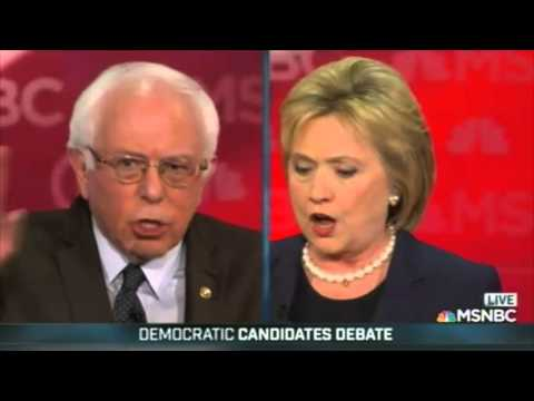 clinton and sanders clash during feb 4th democratic debates