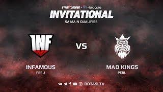Infamous против Mad Kings, Первая карта, SA квалификация SL i-League Invitational S3
