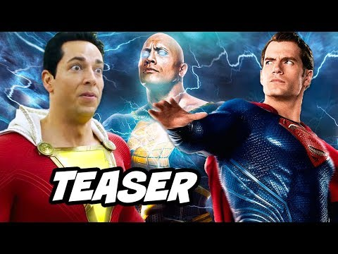 Shazam Superman Scene - Alternate Ending Post Credit Scene Breakdown