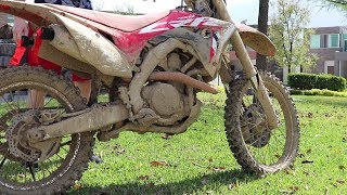 Video Powerwash Extremely Muddy Dirtbike! MP3, 3GP, MP4, WEBM, AVI, FLV Maret 2019