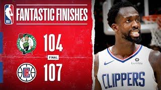 DRAMATIC Finish In Los Angeles between the Celtics & Clippers | Nov. 20, 2019 by NBA