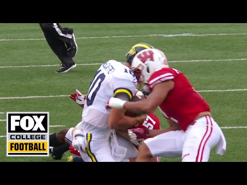 Video: Pereira on Wisconsin targeting penalty: 'This is a play the NCAA wants out' | FOX COLLEGE FOOTBALL