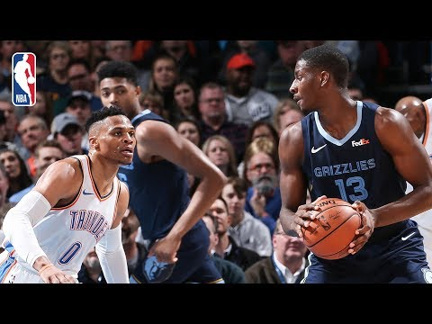 Video: Full Game Recap: Grizzlies vs Thunder | Russ Records Triple-Double For 8th Straight Game