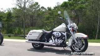 5. Used 2010 Harley Davidson Road King Police Motorcycle for sale