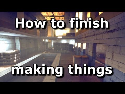 How to finish things - After the deadline