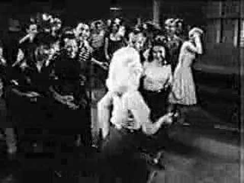 Swing Dancing From The Movie Untamed Youth (1957)