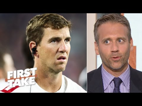Video: Giants should let Eli Manning take the hits and protect Daniel Jones – Max Kellerman | First Take