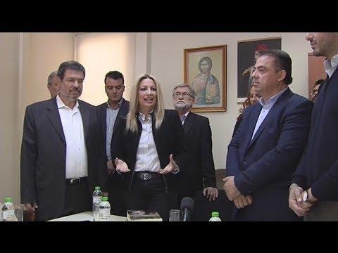 Φ. Γεννηματά: Είμαστε απέναντι στην παλιά δεξιά του κ. Μητσοτάκη και τη νέα δεξιά του κ. Τσίπρα