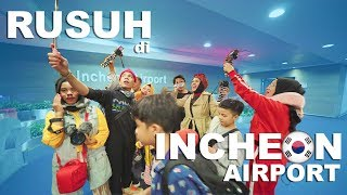Video Rusuh di Incheon Airport, Ngomong Bahasa Korea MP3, 3GP, MP4, WEBM, AVI, FLV Maret 2019