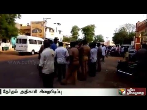 Election-official-allegedly-held-hostage-at-Sivagangai-DMK-election-office