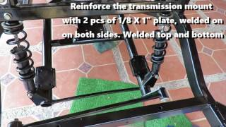 8. Yamaha Drive Gas Golf Cart Frame and Front end tip