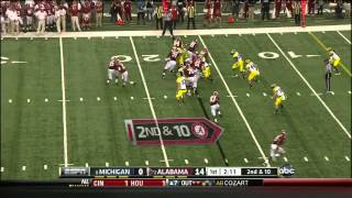 Jalston Fowler vs Michigan (2012)