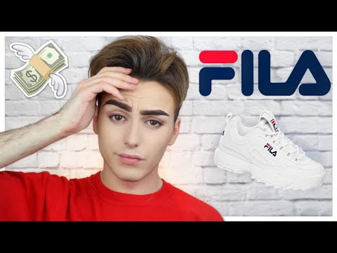 Chaussures Fila Disruptor Low Blanche