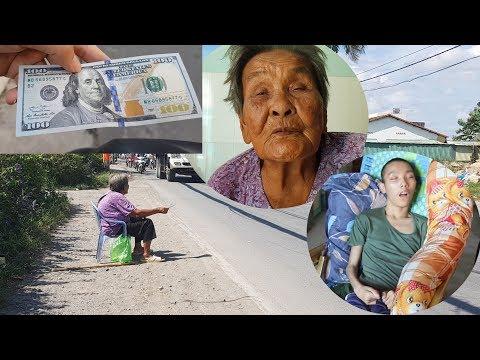 Cụ bà gần 100 tuổi bị con bỏ rơi bật khóc khi nhận 100 USD từ người xa lạ - Thời lượng: 22 phút.