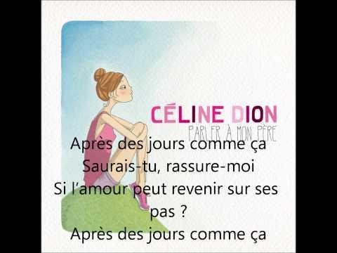 Tekst piosenki Celine Dion - Les jours comme ça po polsku
