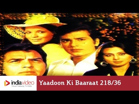Yaadoon - 218th episode of 100 years of Bollywood, a series featuring the milestones of Hindi Cinema, India. Yaadoon ki Baaraat, released in 1973 and best remembered f...