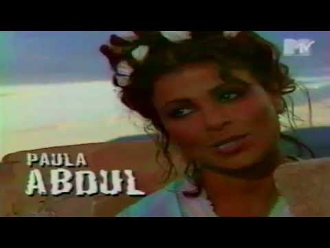 Paula Abdul - My Love Is For Real (Making Of) - MTV On Location