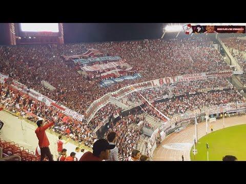 GOLES DE FERNANDEZ Y MAYADA - River Plate vs The Strongest / Copa Libertadores 2016 - Los Borrachos del Tablón - River Plate - Argentina - América del Sur