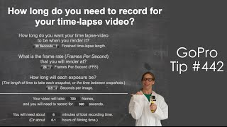 Time - Lapse Calculator - GoPro Tip #442