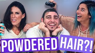 SUBSCRIBE for MORE ►► http://bit.ly/SubClevverStyle In today's episode of Beauty Break, Lily & Joslyn decided it was time to give back to one of their most dedicated crew members. Yes everyone, today we are blessing Sound Guy with HAIR! Stalk us on the social media:http://instagram.com/lily_marstonhttp://instagram.com/joslyndavishttp://instagram.com/therichsound http://twitter.com/lily_marstonhttp://twitter.com/joslyndavis For More Clevver Visit:There are 2 types of people: those who follow us on Facebook and those who are missing out http://facebook.com/clevver http://instagram.com/Clevverhttp://Twitter.com/ClevverTV