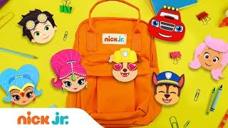Back to School Emoji Craft Video w/ PAW Patrol 🐾 , Shimmer and Shine 💎 , Blaze 🔥  & More! | Nick Jr.