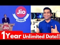 Jio Prime Offer Launched | Unlimited Data for 1 Year waptubes