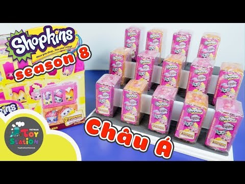 Shopkins season 8 ASIA du lịch châu Á ToyStation 188 - Thời lượng: 18:54.