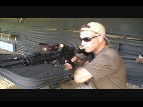 yhm - Fun Gun Reviews Presents: The Yankee Hill Machine Co., Inc. YHM-15 Rifle. These are Mil-Spec AR-5 Rifles that have quality Sight and Quadrail accessories inc...